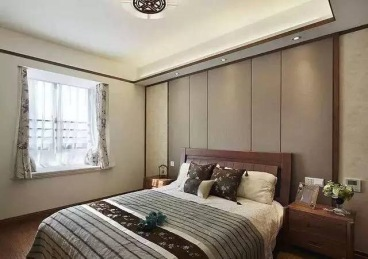 乐湾国际中式卧室效果图