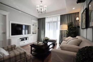 华润海中国三期127平三室二厅装修效果图