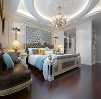 桂林桂林欧式古典卧室效果图