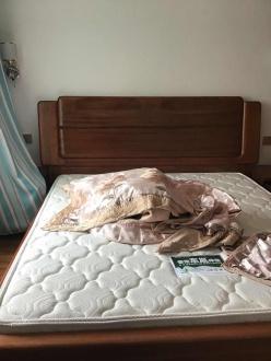 阳光叠彩新中式卧室效果图