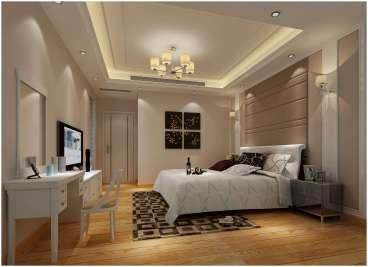 花郡欧式古典卧室效果图