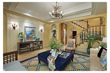风格尚品四室一厅160平装修效果图