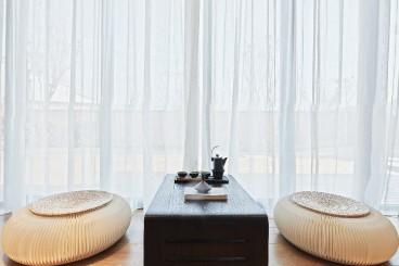 美林湖国际现代简约客厅效果图