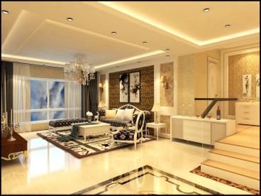 洪苑小区140平四室二厅装修效果图