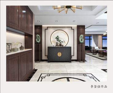 中央城 御湖公馆170平三室二厅装修效果