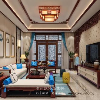 中铁逸都国际别墅六室二厅500平装修效果