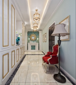 银海元隆广场四室二厅150平装修效果图