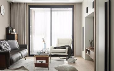 鑫科明珠三室二厅现代简约装修澳门博彩娱乐网址