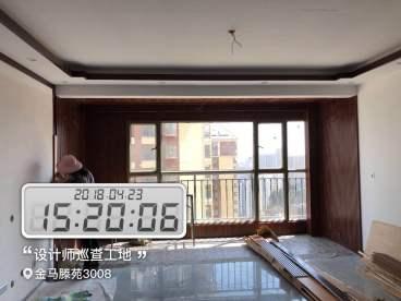 金马腾苑新中式全包装修效果图