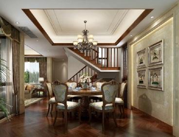 海信温泉王朝四室二厅全包装修效果图
