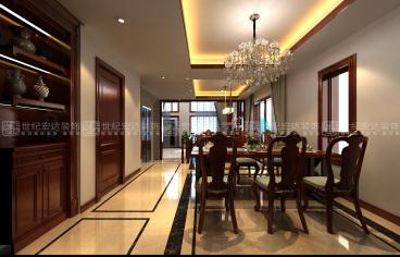 中海华山珑城337平五室四厅装修效果图