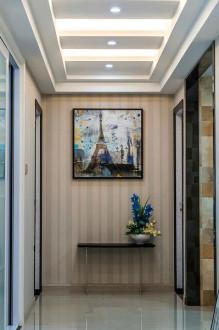 德信晓宸现代简约三室二厅装修效果图