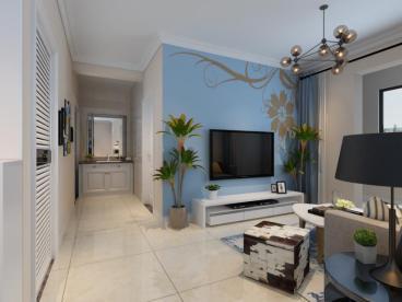 中泽纯境全包二室一厅装修效果图