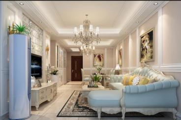 森隆满园全包三室一厅装修效果图