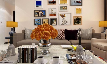 中海华山珑城全包三室二厅装修效果图