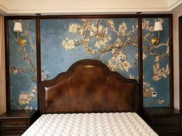 光明领尚美式卧室效果图