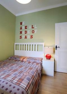 盛和世紀時尚混搭臥室效果圖