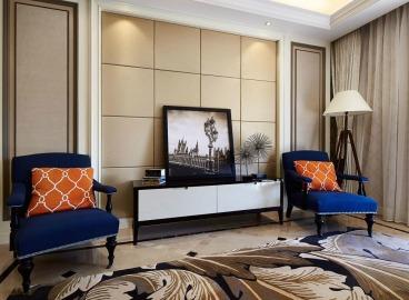 华侨凤凰城130平三室二厅装修效果图