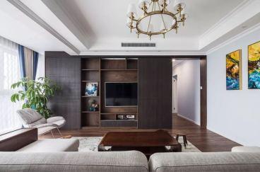 时代俊园现代简约四室二厅装修效果图