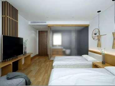 旅馆房间效果图