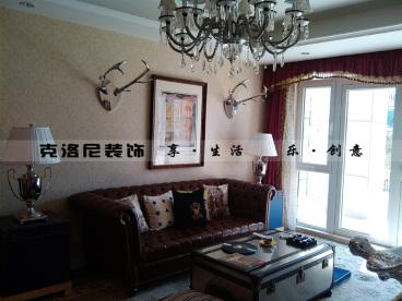 观山名筑(3)三室一厅130平装修效果图