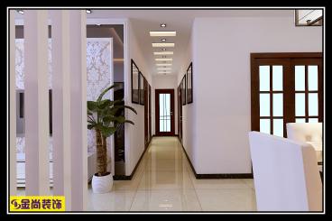 财富中心全包三室一厅装修效果图