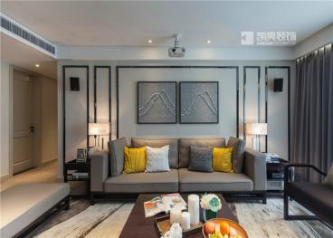 高尔夫国际花园三室二厅135平装修效果图