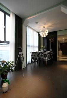 花语馨花园现代简约餐厅效果图