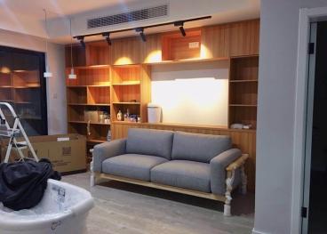 采薇苑刘总北欧风全包三室二厅装修效果图