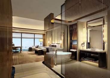 龙岗丹竹头现代风格酒店翻新5000平现代