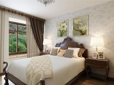 馨和园时尚混搭卧室效果图