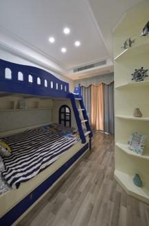 世茂铂翠湾美式儿童房效果图