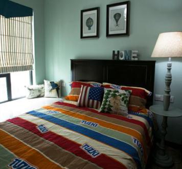 海都汇府美式卧室效果图