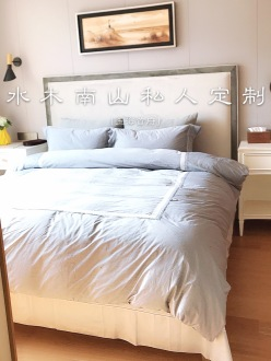 中梁玉海首府美式卧室效果图