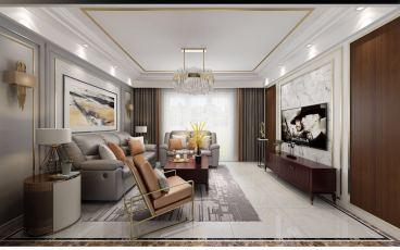 御湖城170平大平层现代简约四室二厅装修