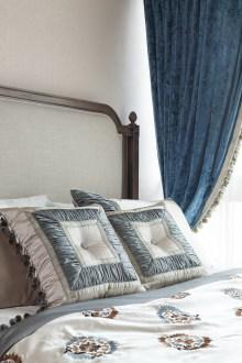 兴冶国际美式卧室效果图