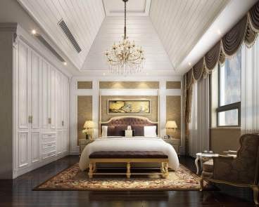 东方国际新古典卧室效果图