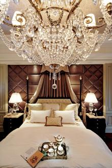 首创鸿恩中心欧式古典卧室效果图