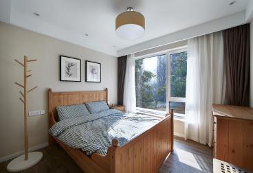 雅戈尔太阳城时尚混搭卧室效果图