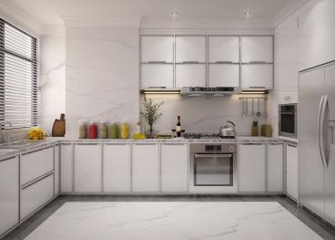 新华联雅园欧式古典厨房效果图