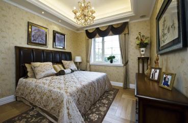 威高花园欧式古典卧室效果图
