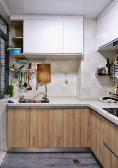 南湖家园北欧厨房效果图