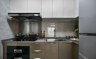 盛世長安新中式廚房效果圖