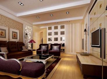 红星美凯城三室二厅全包装修效果图