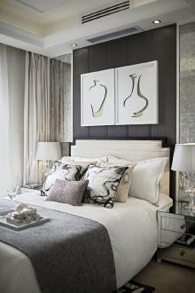 恒大御景半岛欧式古典卧室效果图
