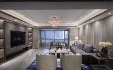 亨特萃山国际全包四室二厅装修效果图