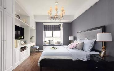 三江城美式卧室效果图