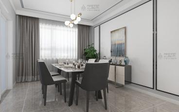 和谐佳苑现代简约四室二厅装修效果图