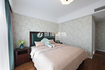萬和國際美式臥室效果圖