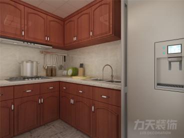 安華里中式廚房效果圖